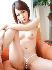 Ryouko's Japanese ass is like an electromagnetic lethal weapon, like Kryptonite for the CKE18 director. Licking every inch of her body would be ecstasy.